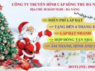 truyền hình cáp sông thu đà nẵng khuyến mãi Noel