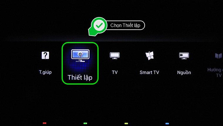 cách dò kênh trên tivi philips