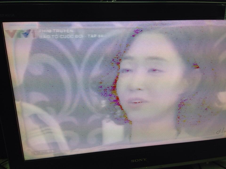 truyền hình cáp bị mờ